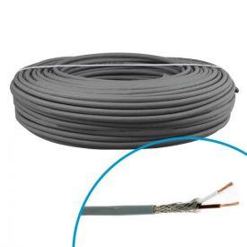 Câble blindé LiYCY 2x0,75mm² OMERIN - Couronne 50m