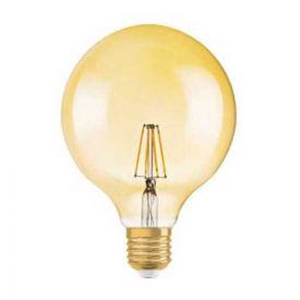 OSRAM Ampoule LED filament E27 230V édition 1906 4W 380lm globe or