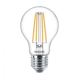 PHILIPS Ampoule LED filament E27 230V 8,5W(=75W) 1055lm 2700K LEDbulb standard - 649081