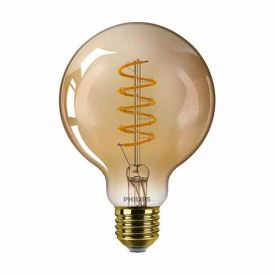 PHILIPS Vintage Ampoule LED filament dimmable E27 230V 5,5W(=25W) 250lm 2000K globe or - 676070