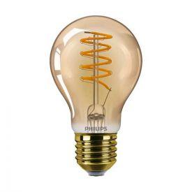 PHILIPS Vintage Ampoule LED filament dimmable E27 230V 5,5W(=25W) 250lm 2000K LEDbulb or - 686543