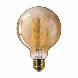 PHILIPS Vintage Ampoule LED filament E27 230V 5W(=25W) 250lm 2000K LEDbulb globe or - 744154