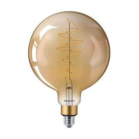 PHILIPS Vintage Ampoule LED filament dimmable E27 230V 6,5W(=40W) 470lm 2000K Giant globe - 803479