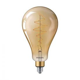 PHILIPS Vintage Ampoule LED filament dimmable E27 230V 6,5W(=40W) 470lm 2000K Giant or - 803493