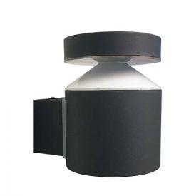 Applique extérieure LED montante 230V 6W 600lm 4000K anthracite