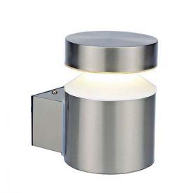 Applique extérieure LED montante 230V 6W 600lm 4000K inox