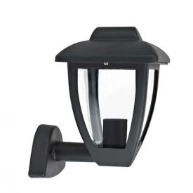 Applique LED extérieure montante 230V E27 10W max anthracite