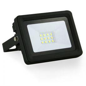 Projecteur extérieur LED extra plat 230V 10W 900lm 4000°K noir
