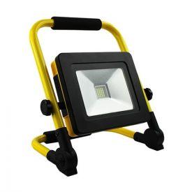 Projecteur de chantier LED extra plat sur batterie 20W 1000lm 4000°K IP44