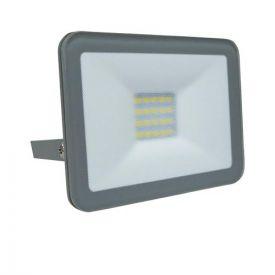 Projecteur extérieur LED extra plat 230V 10W 900lm 4000°K gris