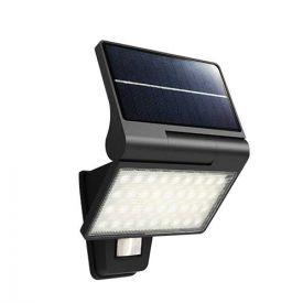 Applique solaire LED 230V 5W 350lm 4000K noir