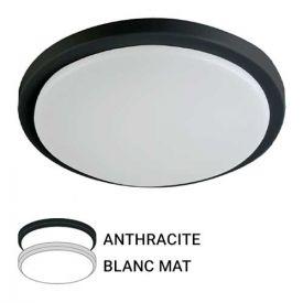 Hublot extérieur LED 230V 18W 1600LM 4000K 250mm blanc/anthracite
