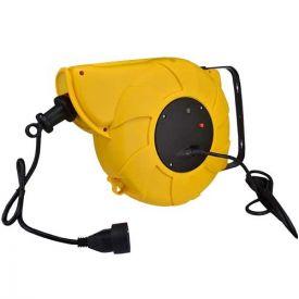Enrouleur électrique automatique mural 20m H05VV-F 3G1,5