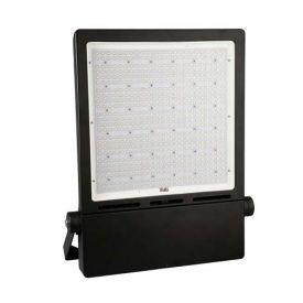 Projecteur LED extérieur asymétrique 230V 100W 10000lm 4000°K IP65 noir