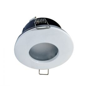 Spot LED encastrable IP65 82mm GU5.3 230V-12V 5W 380lm 2700K blanc