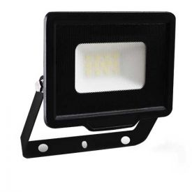 Projecteur extérieur LED extra plat 230V 10W 700lm 4000K noir