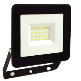 Projecteur extérieur LED extra plat 230V 20W 1500lm 4000K noir