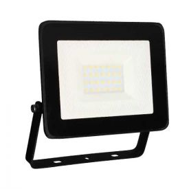 Projecteur extérieur LED extra plat 230V 30W 2400lm 4000K noir