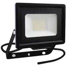 Projecteur extérieur LED extra plat précâblé 230V 20W 1700lm 4000K noir