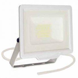 Projecteur extérieur LED extra plat précâblé 230V 20W 1700lm 4000K blanc