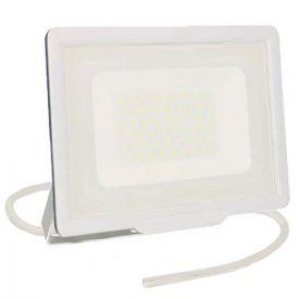 Projecteur extérieur LED extra plat précâblé 230V 50W 4250lm 4000K blanc
