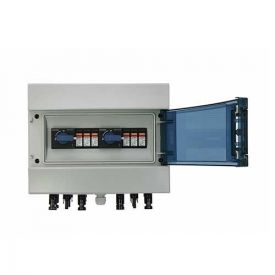 Coffret de protection DC photovoltaïque 600V - 2 entrées