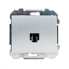 SIEMENS Delta Iris Mécanisme prise informatique RJ45 catégorie 6 - Silver