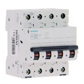 SIEMENS Disjoncteur Tétrapolaire 10A