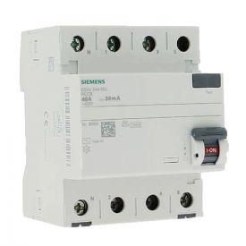 SIEMENS Interrupteur différentiel tétrapolaire 40A type AC 30mA