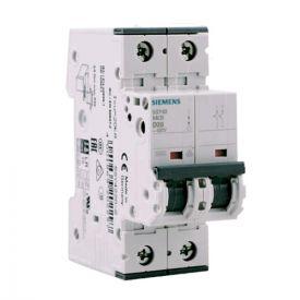 SIEMENS Disjoncteur électrique bipolaire 20A courbe D