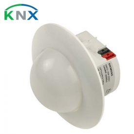 SIEMENS KNX Détecteur de présence 360° avec sonde de luminosité et récepteur infrarouge (IR)