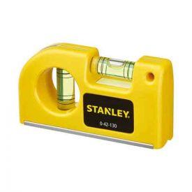 STANLEY Niveau à bulle de poche - 0-42-130