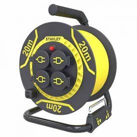 STANLEY Enrouleur électrique pro 20m H07RN-F 3G1,5 - 227121