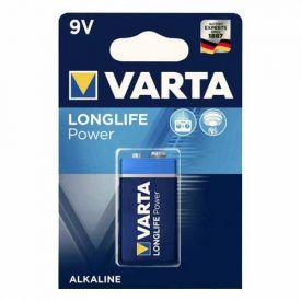 VARTA Pile alcaline Longlife Power 9V 6LR61 - 4922121411