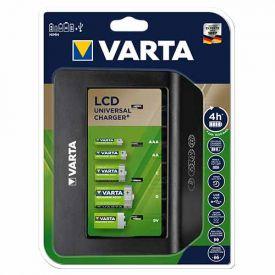 VARTA chargeur de piles Universal avec écran LCD (sans accu) - 57688101401