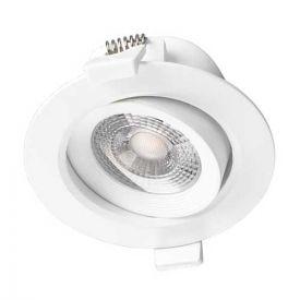 VISION-EL Spot LED encastrable et orientable 230V 7W 550lm 4000°K blanc - 76322