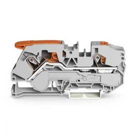 Wago TOPJOB®S Borne de passage à levier 2 fils 16mm² gris - 2116-5201