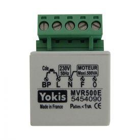 YOKIS centralisation de volets roulants micro-module encastré - MVR500E / 5454090