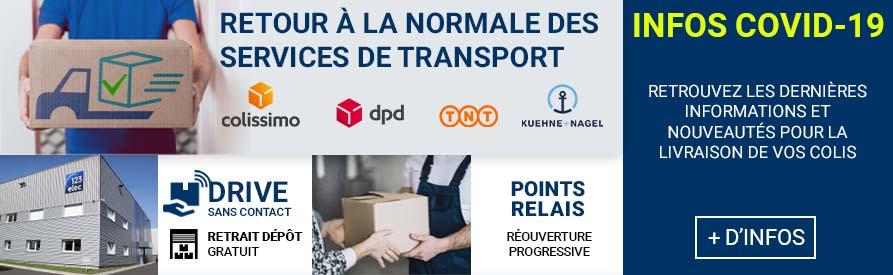 Infos transport coronavirus