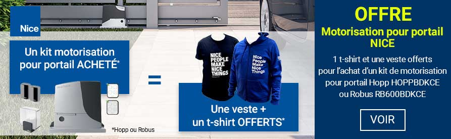 Offre Nice t-shirt + veste offerts