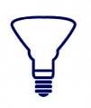 Ampoule LED de forme spot