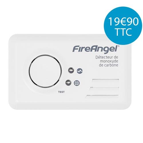 Détecteur de monoxyde de carbone FireAngel