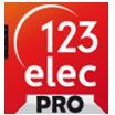 logo 123elec pour les pros