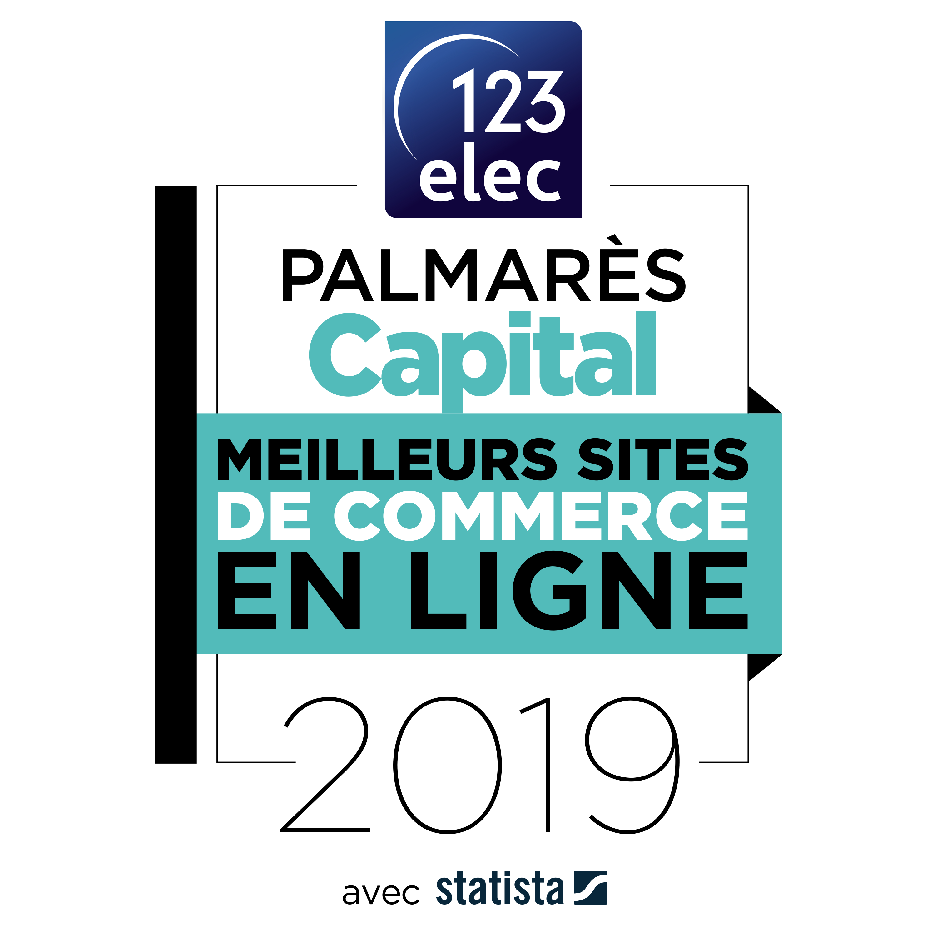 123elec, meilleur site e-commerce 2019 par Capital